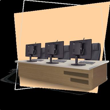 استفاده از مینی کامپیوترها ادارات و سازمان ها