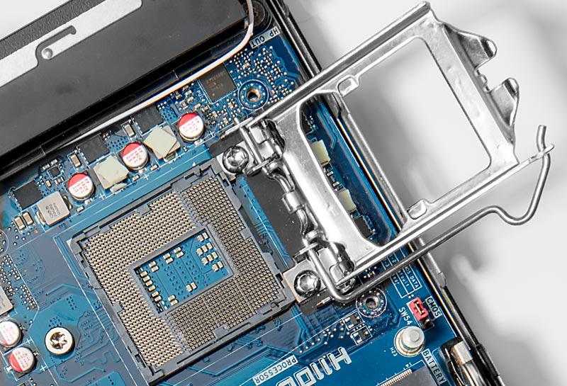 ارتقاء پردازنده در مینی پی سی سولمیت